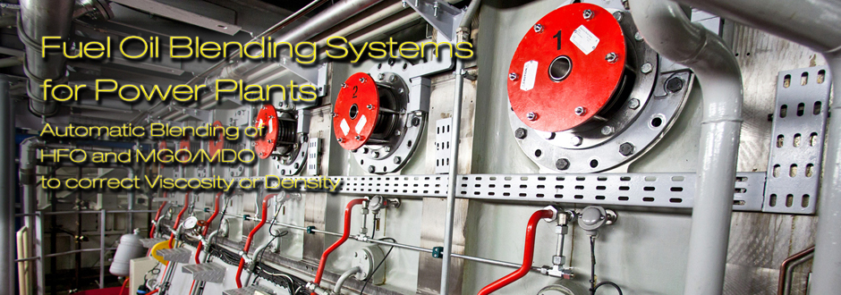 Fuel Oil blending systems for Power Plants