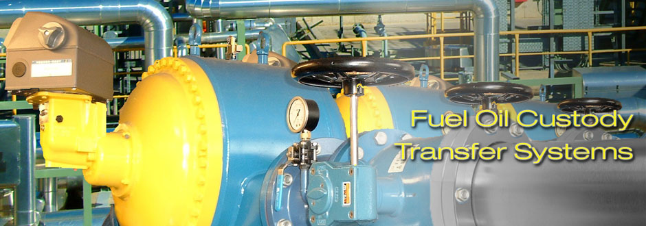 Fuel Oil Custody Transfer System